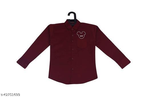 Red Fogg Boys Long Sleeve Shirt