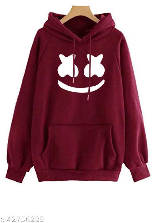Prabodham Marshmellow Printed Unisex Hoodie   Pullover Sweatshirt   Warm Hoodie