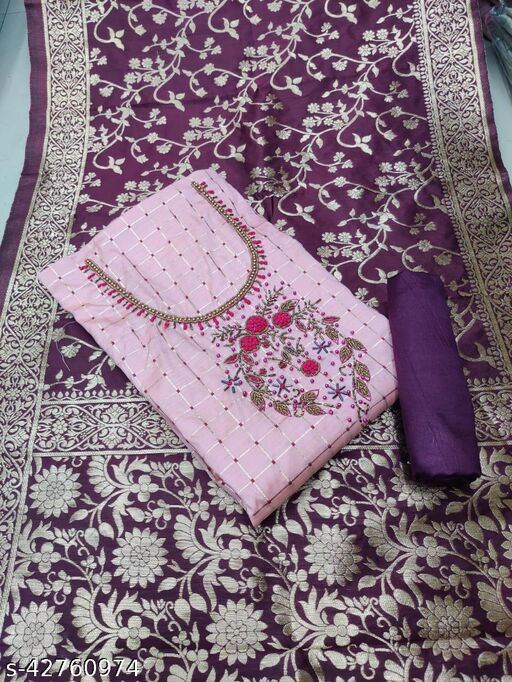Aagam Petite Semi-Stitched Suits