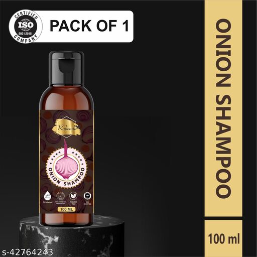 Rabenda Red Onion Shempoo for Hair Strengthening & Hair Fall Control.100ml (pack -1)