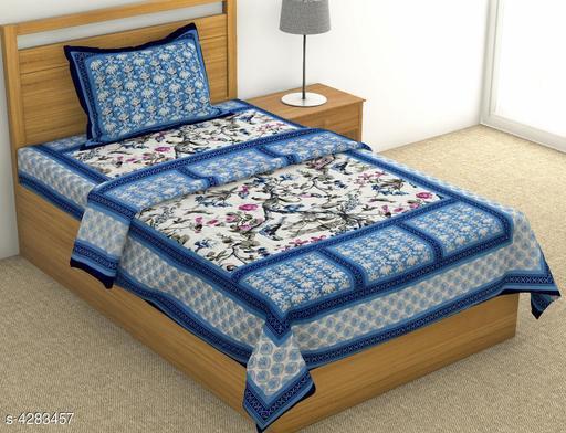 Divine Classy Cotton Single Bedsheets
