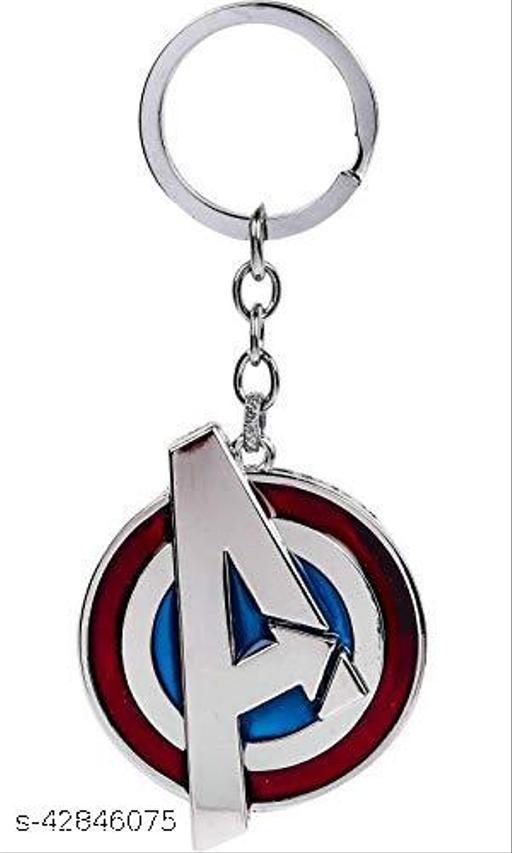 Caballo Marvel Avengers A Logo Keychain (Silver)
