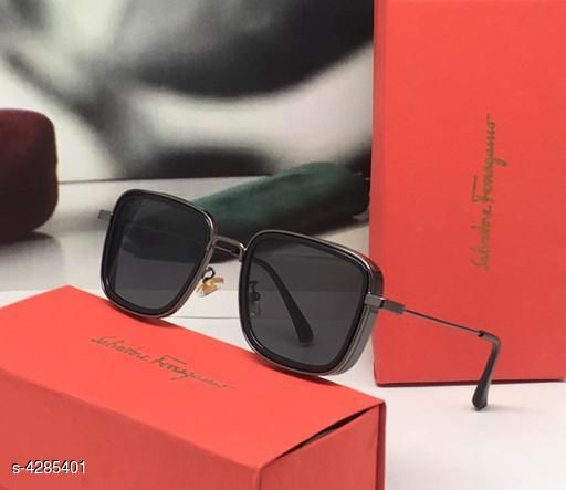 Designer Metal Unisex Sunglasses