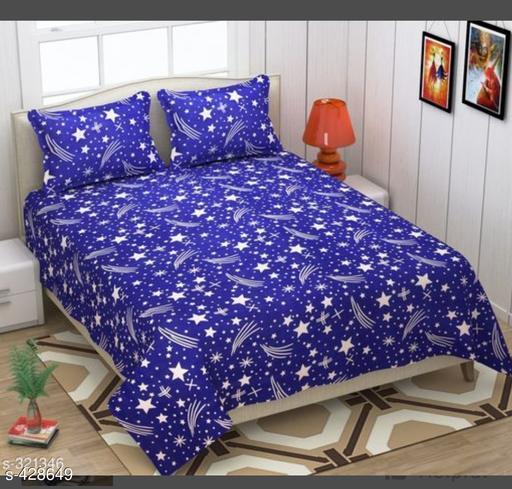 Comfy Microfiber Double Bedsheet