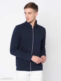 Rigo Navy Terry Harrington Full Sleeve Jacket For Men