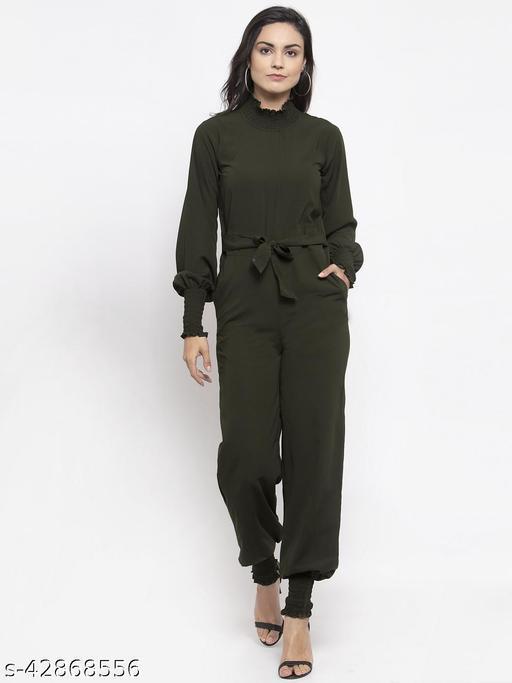 Jompers Olive Green Jumpsuit