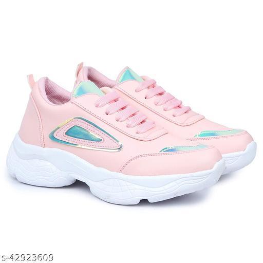 Coyo Walk Girl's Walking Running Training & Gym Lightweight Comfortable Shoe for Women/Girl's