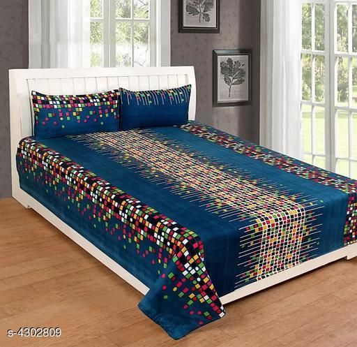 Trendy Polycotton Bedsheet