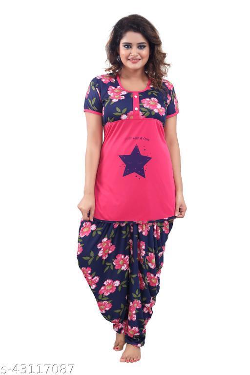 Trendy Fashionable Women Nightsuits