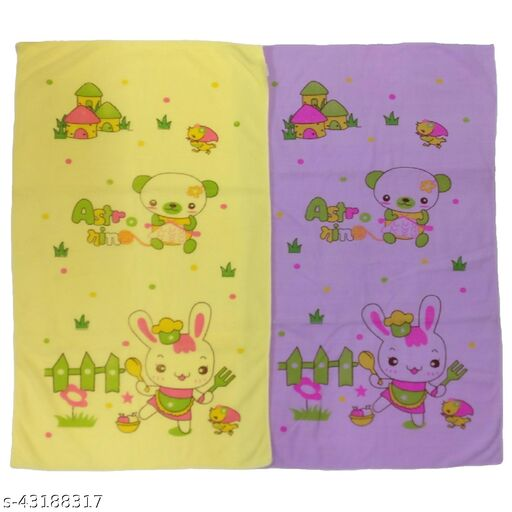 Super Soft Baby Bath Towels (Pack of 2), 32.5 x 21 inches