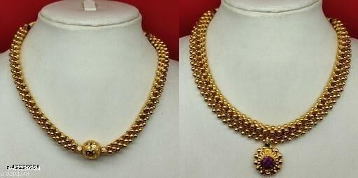 Diva Glittering Necklace & Chains