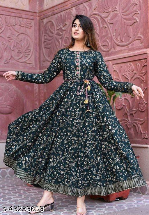 Aagam Ensemble Gown
