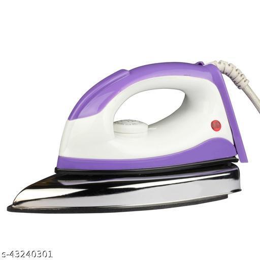 Monex latest and trendy white purple desire dry iron