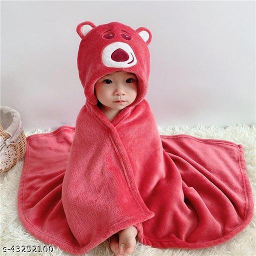 Chicbunny Emboderied hooded Baby Blanket