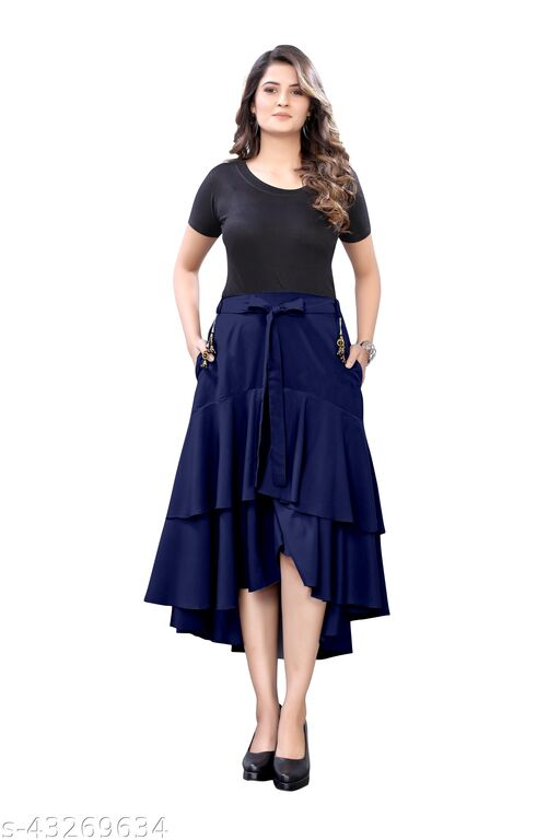 Ravishing Modern Women Western Skirts
