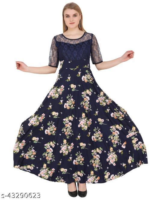Designer Stylish Partywear Gown