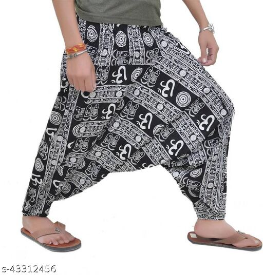 Men's Cotton Harem Pants