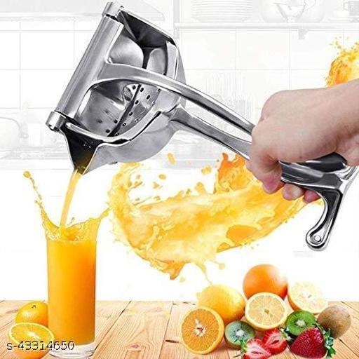 SUNSHIV Aluminum Manual Fruit Juicer Hand Juicer, Fruit Juicer Manual Juicer Instant Juicer Orange Juicer, Handle Juicer   Manual Lemon Fruit Juicer