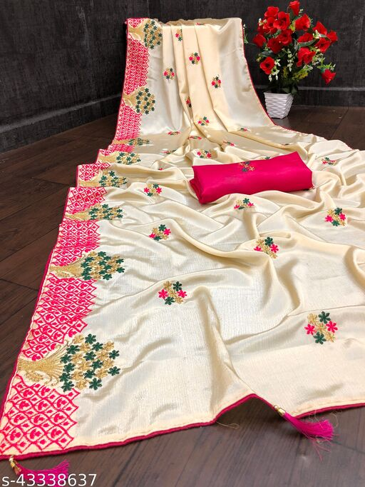 Bestb and Amaging Qulity satin silk saree