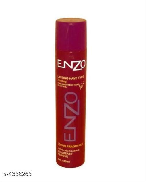 Red Enzo Hair Spray