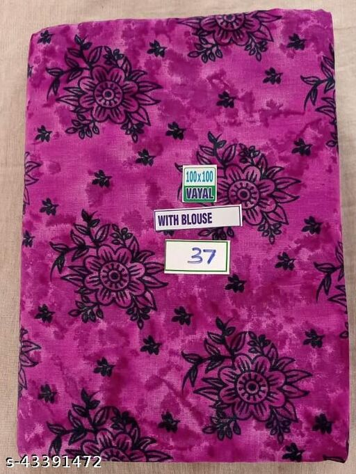 Madurai Maruthi OSP Sungudi Sarees - 7 Yards Soft VAYAL (Voile) sarees - 37