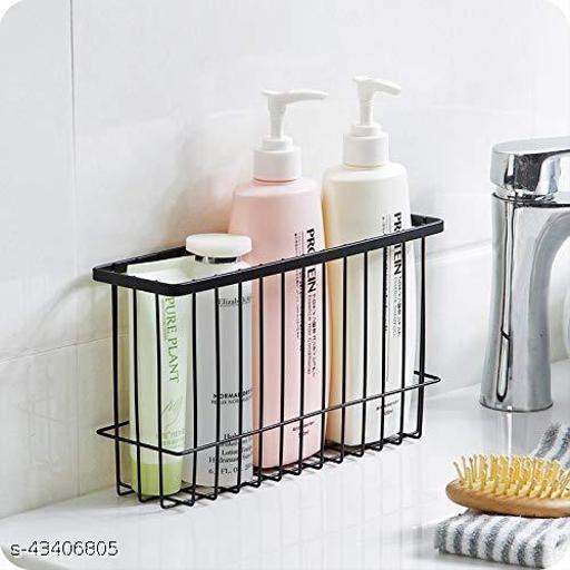 Bathroom Shampoo Bottle Storage - Metal