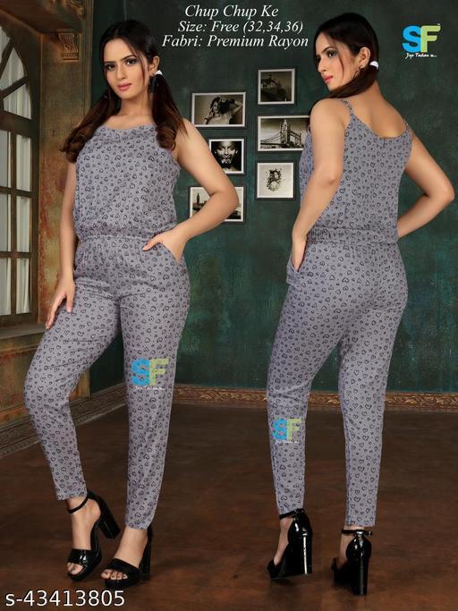 Pretty Designer Women Jumpsuits