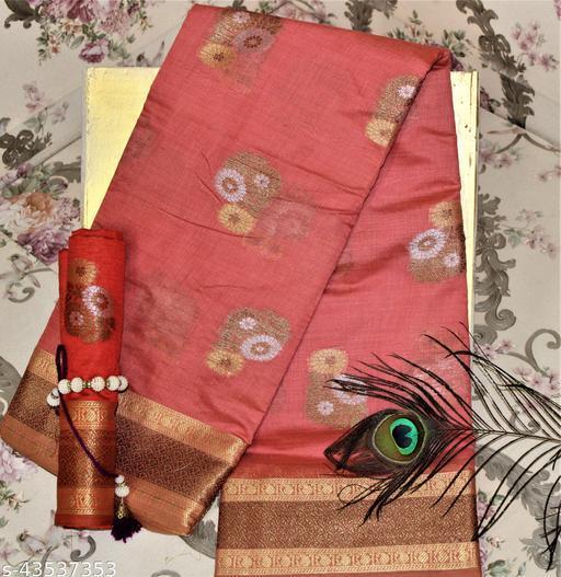 cotton fancy saree