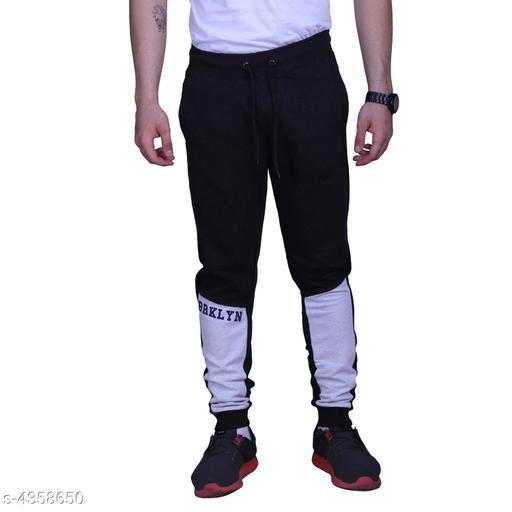 Comfy Trendy Poly Cotton Men's Track Pants