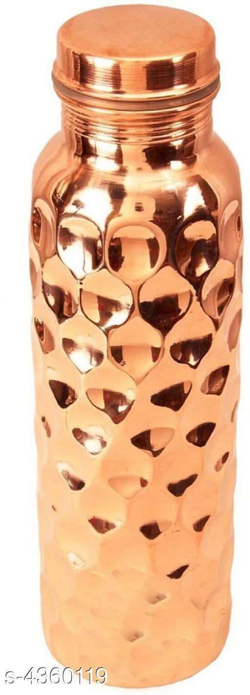 Trendy Pure Copper Stylish Bottles & Jugs