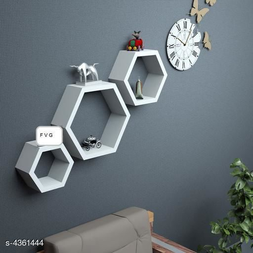 Wooden Floating Wall Shelve