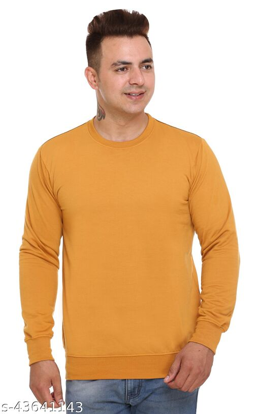 SHAUN Men Round Neck Sweatshirt