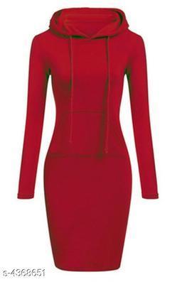 Women's Solid Bodycon Dress