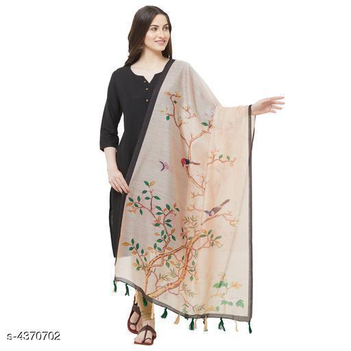 New Stylish Chanderi Silk  Women's Dupatta
