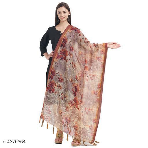 Trendy Stylish Chanderi Silk Dupatta