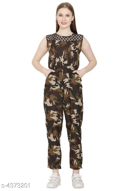 New PolyCrepe Women's Jumpsuits