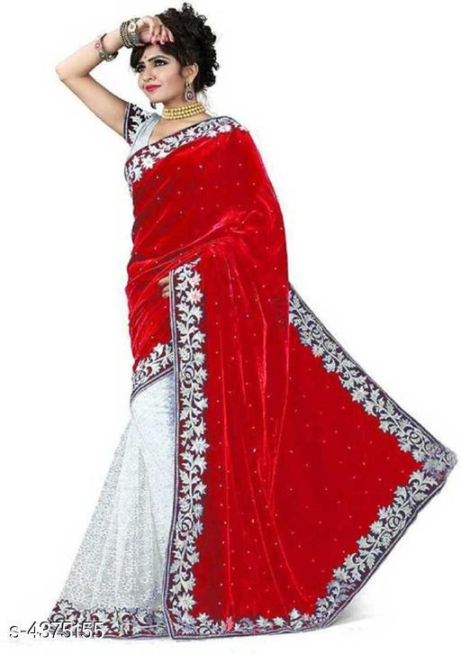 Trendy Velvet Women's Saree