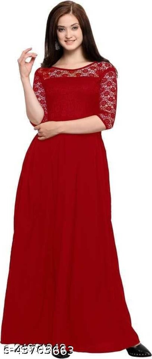 Abhisarika Fashionable Gown