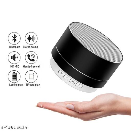 A10 Portable Bluetooth Speaker With USB/Mrmory Card Slot and Light