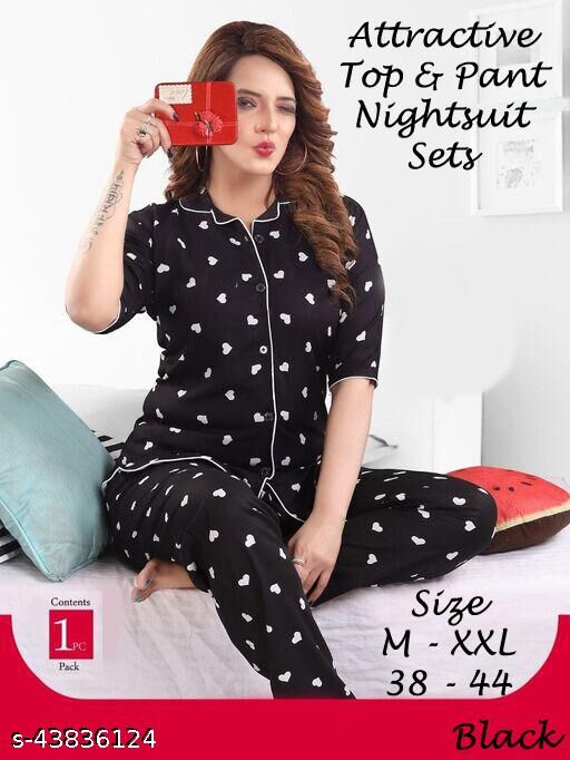 Aishani Graceful Women Nightsuit