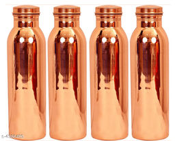 Stylish Copper Water Bottles