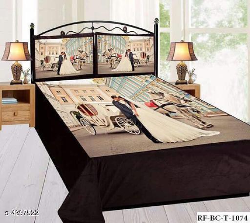 New Modal Attracrive Stylish Velvet Double Bedsheets