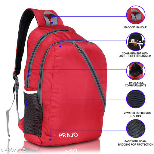 Trendy Attractive Polyester Bags & Backpacks