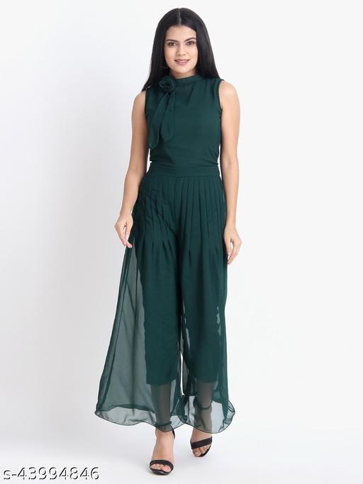 Women's Georgette Maxi Jumpsuit