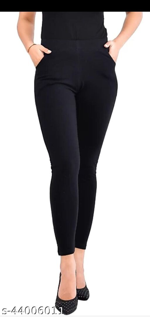 Ankle length legging with poket