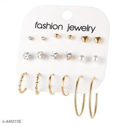 Stylish Alloy Women's Earring