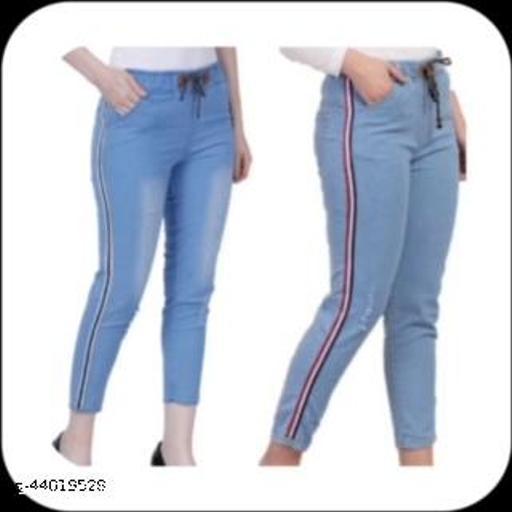 Comfy Feminine Women Jeans