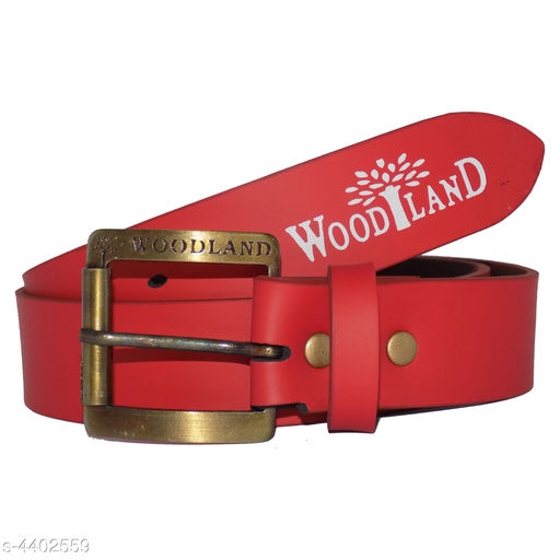 Trendy Genuine Artificial Leather Men's Belt