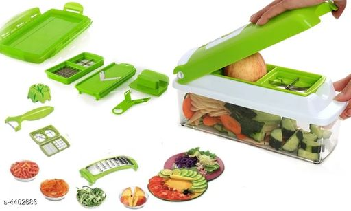 Multipurpose Vegetable and Fruit Chopper Cutter Greater Slicer 12 in 1