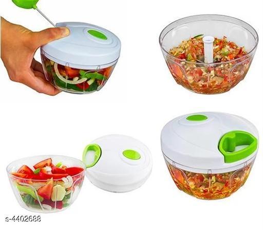 Manual Food Chopper, Compact & Powerful Hand Held Vegetable Chopper/Blender